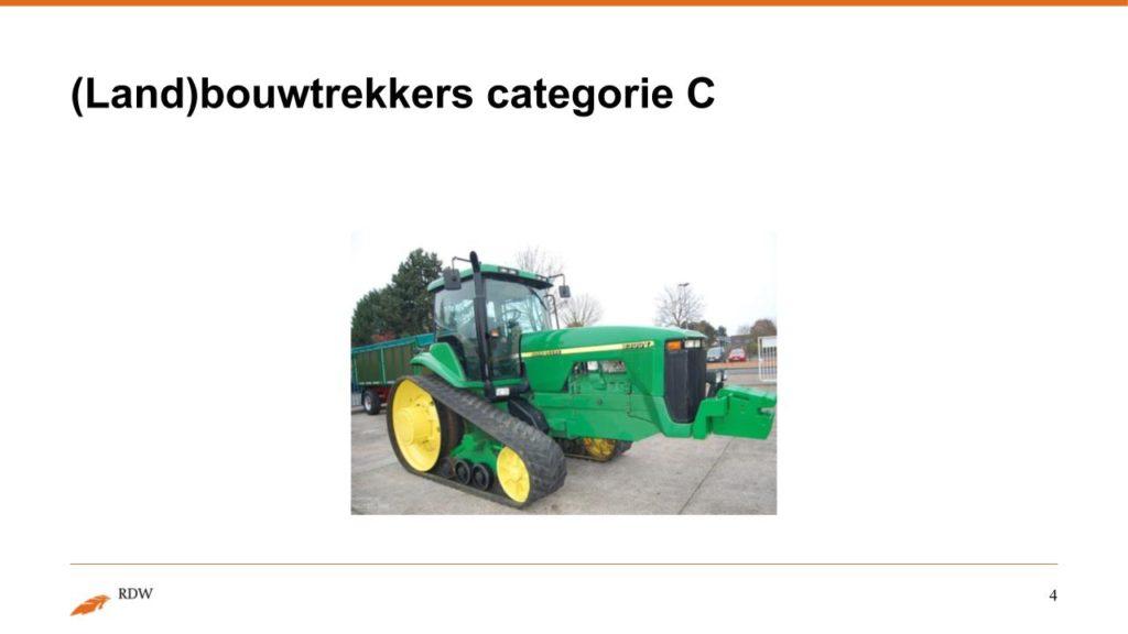Kentekening RDW landbouwvoertuigen 4