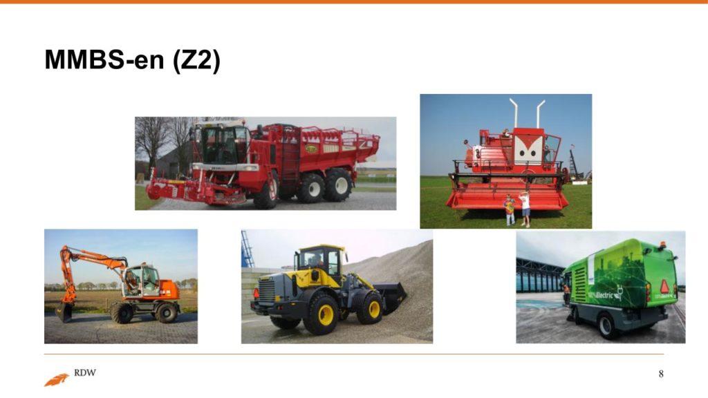 Kentekening RDW landbouwvoertuigen 8