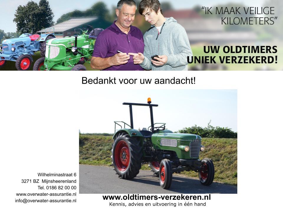 Oldtimer tractoren verzekering en kentekening pagina 17