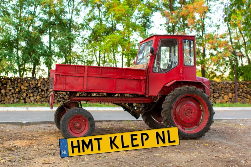Registratie en kentekenplicht tractoren
